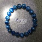 斯里蘭卡 4A+ 貓眼藍色磷灰石手串 9.3mm