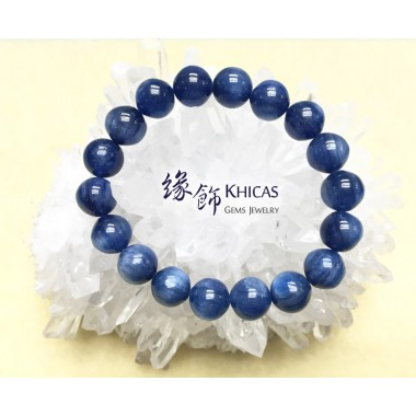 5A+ 美國藍晶石圓珠手串 10mm