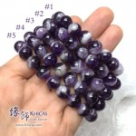 巴西夢幻紫晶圓珠手串 10mm【多款可選】