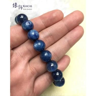 5A+ 美國藍晶石圓珠手串 11.5mm+/-