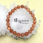 4A+ 俄羅斯金草莓晶(太陽石)手串 8.5mm