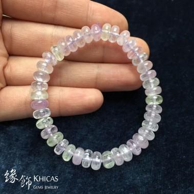 4A+ 巴西紫鋰輝盤珠手串