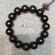 非洲黑檀木佛珠手串 15mm