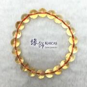 巴西 5A+ 黃晶手串 9.4mm