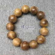 印尼加里曼丹沉香圓珠手串 18.5mm