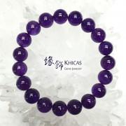 烏拉圭 5A+ 紫水晶手串 10.5mm