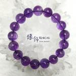 烏拉圭 5A+ 紫水晶手串 12.5mm