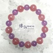 4A+ 馬粉晶 12mm 間 5A+ 薰衣草紫晶 10.5mm