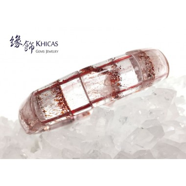 巴西 5A+ 草莓色三輪骨幹 Super7 手排 14.5x20x7mm