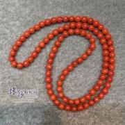 5A+ 南紅瑪瑙 5.5mm 三圈手串