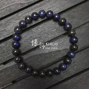 5A+ 馬達加斯加 黑體藍光拉長石手串 7.5mm
