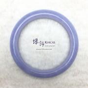 巴西 4A+ 藍紋瑪瑙手鐲(內徑 ⌀56mm / 1.5)