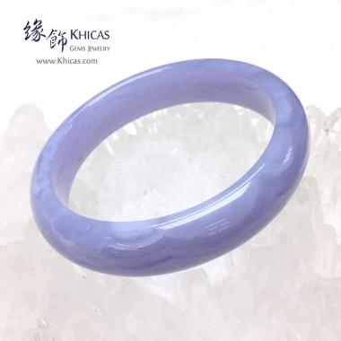 巴西 4A+ 藍紋瑪瑙手鐲(內徑 ⌀58mm / 1.55)