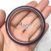 天然紫玉髓手鐲(內徑 ⌀56mm / 1.5)