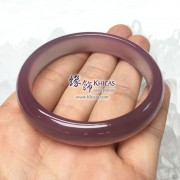 天然紫玉髓手鐲(內徑 ⌀54mm / 1.45)