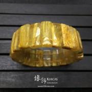 巴西 5A+ 金鈦晶手排 20x9.5x6mm