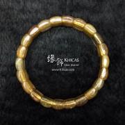 巴西 4A+ 金髮晶手排 14x9x6mm