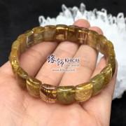 巴西 4A+ 金髮晶手排 12x8x5mm