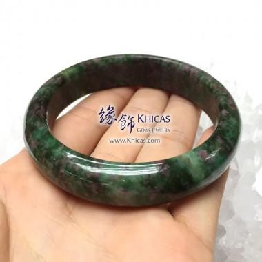 緬甸紅綠寶石手鐲 15x9mm(內徑 ⌀60mm / 1.6)
