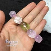 巴西 4A+ 紫鋰輝花生形手串 ~15mm