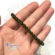 捷克綠隕石手串 6.2mm+/-