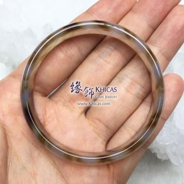 波斯灣瑪瑙手鐲 11x4.5mm(內徑 ⌀54mm / 1.45)