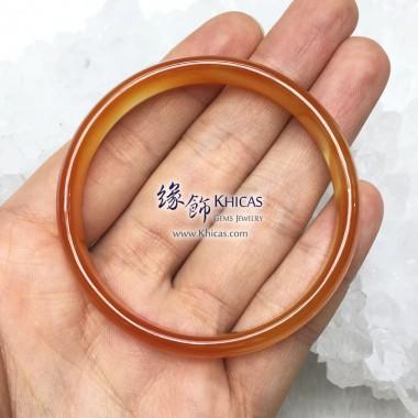 波斯灣瑪瑙手鐲 10x4.5mm(內徑 ⌀54mm / 1.45)