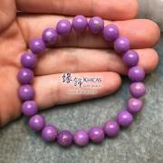 美國 4A+ 紫雲母手串 8.3mm+/-