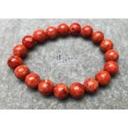 海南紅珊瑚手串 9.5mm+/-