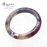 阿富汗 3A+ 紫紅碧璽福鐲(內徑 ⌀53.2mm / 1.43)