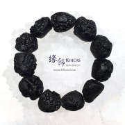 黑隕石原石手串