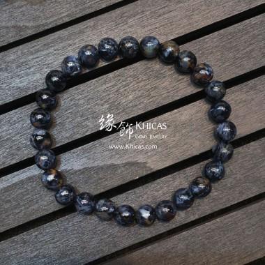 納米比亞 5A+ 貓眼藍色彼得石手串 7.3mm