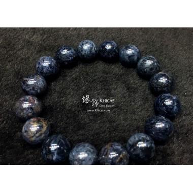 納米比亞 5A+ 藍色彼得石手串 13.5mm+/-