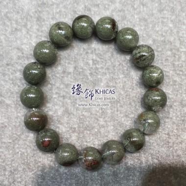 巴西 4A+ 滿綠/綠幽靈手串 12mm
