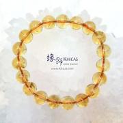 巴西 5A+ 黃水晶手串 10.5mm+/-