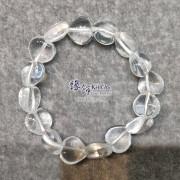 巴西白水晶心形手串 ~12mm