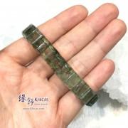 巴西3A+ 綠髮晶手排 11mm+/-