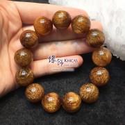 特級巴西 5A+ 銅鈦晶手串 17.5mm+/-【超濃密鈦髮絲】