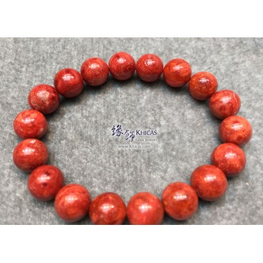 海南紅珊瑚手串 11mm+/-