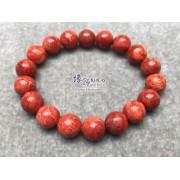 海南紅珊瑚手串11mm+/-