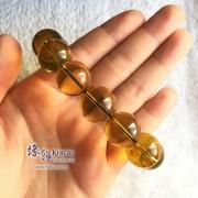 墨西哥藍珀圓珠手串 18.5mm+/-