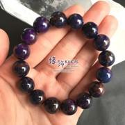 南非 5A+ 紫藍舒俱徠手串 13.2mm+/-