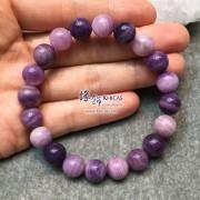 贊比亞 玉化紫櫻花手串 10mm