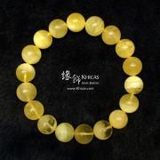 波羅的海 白花蜜蠟圓珠手串 11.2mm+/-