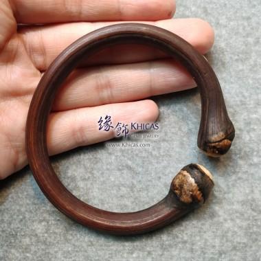 西藏雞血滕手環(圈口 66.5x58mm)
