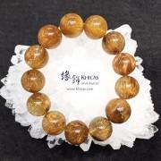 巴西 5A+ 特大珠銅髮晶手串 18mm+/-