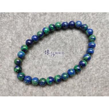 納米尼亞 5A+ 藍銅礦手串 6.5mm+/-