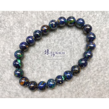 納米尼亞 5A+ 藍銅礦手串 8.3mm+/-