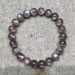 印度 5A+ 紫光拉長石手串 9mm+/-