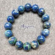 納米尼亞 5A+ 藍銅礦手串 12.8mm+/-